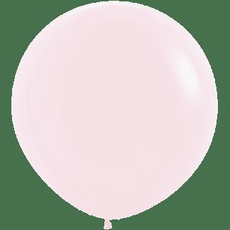 Sempertex Rundballon 90 cm Pastell Matt Rosa