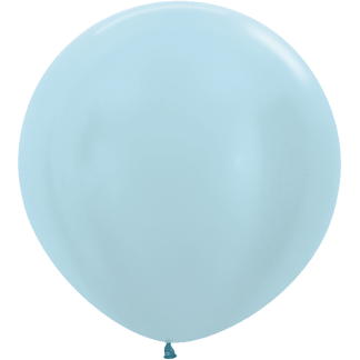 Sempertex Europe Rundballon Pearl Blue 36 Inch