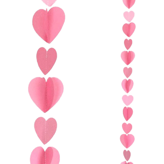 Ballon Band rote Herzen