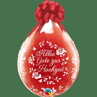 Verpackungsballon Alles gute zur Hochzeit
