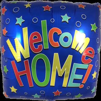 Willkommen Folienballon Heliumballon Welcome Home