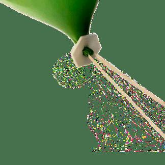 Ballonverschluß ökologisch biologisch abbaubar