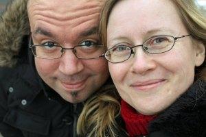 Fabian und Sara Selfie