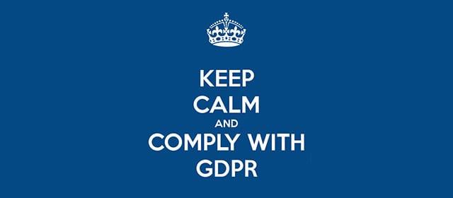 Varovanje osebnih podatkov – GDPR