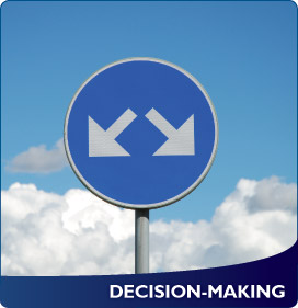 decision making, two directions