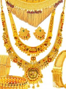 Muslim dowry jewelry