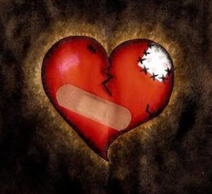 broken heart, hurt heart,
