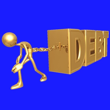 Chained to debt