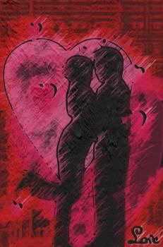 Couple hugging, love, intimacy