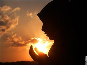 Dua woman at Sunset
