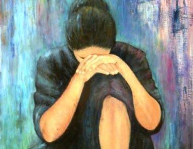 woman in regret, sad, depressed