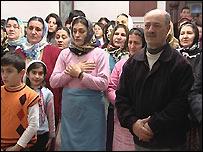 Turkish Alevis praying