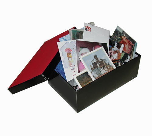 Photos in a shoebox
