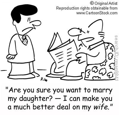 asking permission to marry