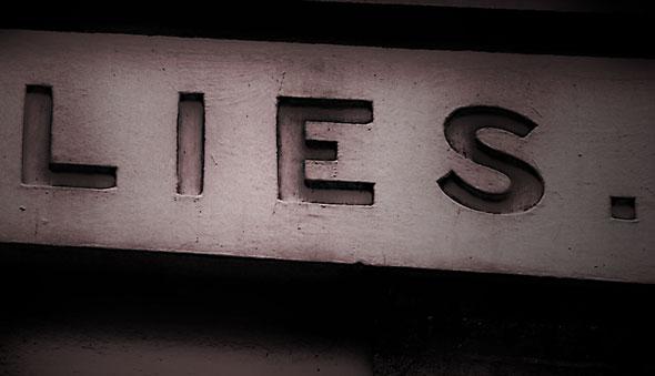 Lies, telling lies, lying