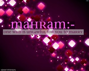 Who is her Mahram