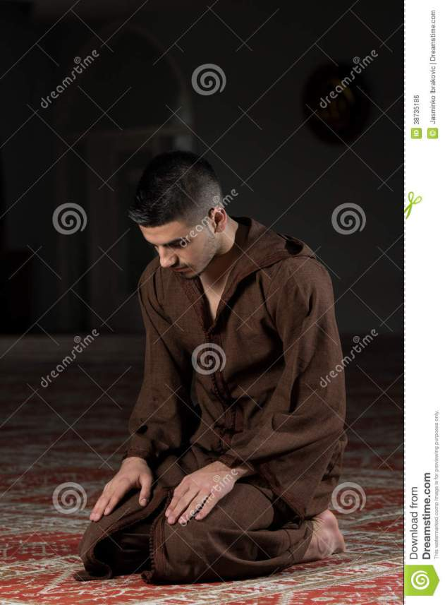 muslim-man-praying-mosque-young-making-traditional-prayer-to-god-wearing-traditional-cap-djellaba-38735186