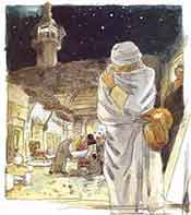 The custom of begging during Hajj was prohibited by Islam