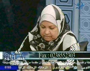 Soad Saleh, a noted female Islamic scholar