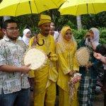 Best man at Malaysian Muslim wedding