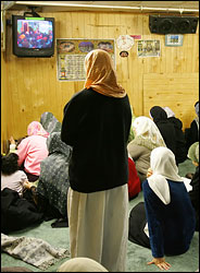 Women at the mosque