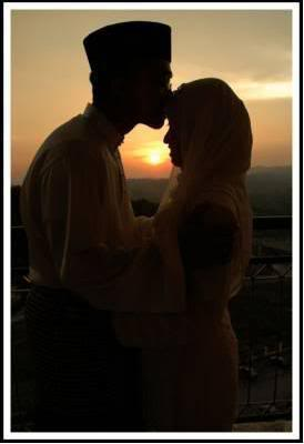 Indonesian Muslim couple