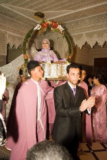 Moroccan Muslim wedding in Fez