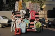 Egyptian clothing seller