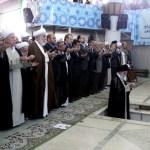 Tehran, Iran: Supreme leader Ayatollah Ali Khamenei leads prayers during the Eid al-Fitr prayers ceremony at Tehran University