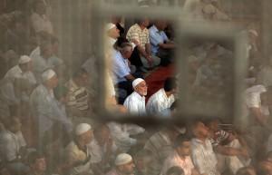 Jumuah or Friday prayer at Masjid Eyup Sultan