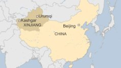Xinjiang is a Muslim-majority province in western China. Muslims there have been persecuted by the Communist government.