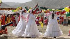 Brides from the Qashqai tribe in Iran