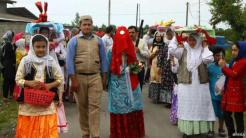 A traditional wedding in the northern province of Gilan