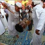 Traditional wedding on the Iranian island of Qeshm