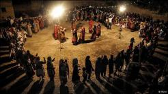A traditional wedding in the town of Kalat in the north of Khorasan province.