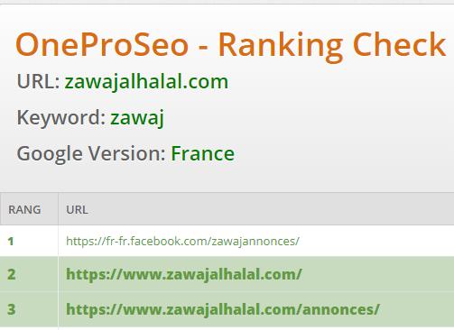 Zawaj Al Halal est parmi les top site en France