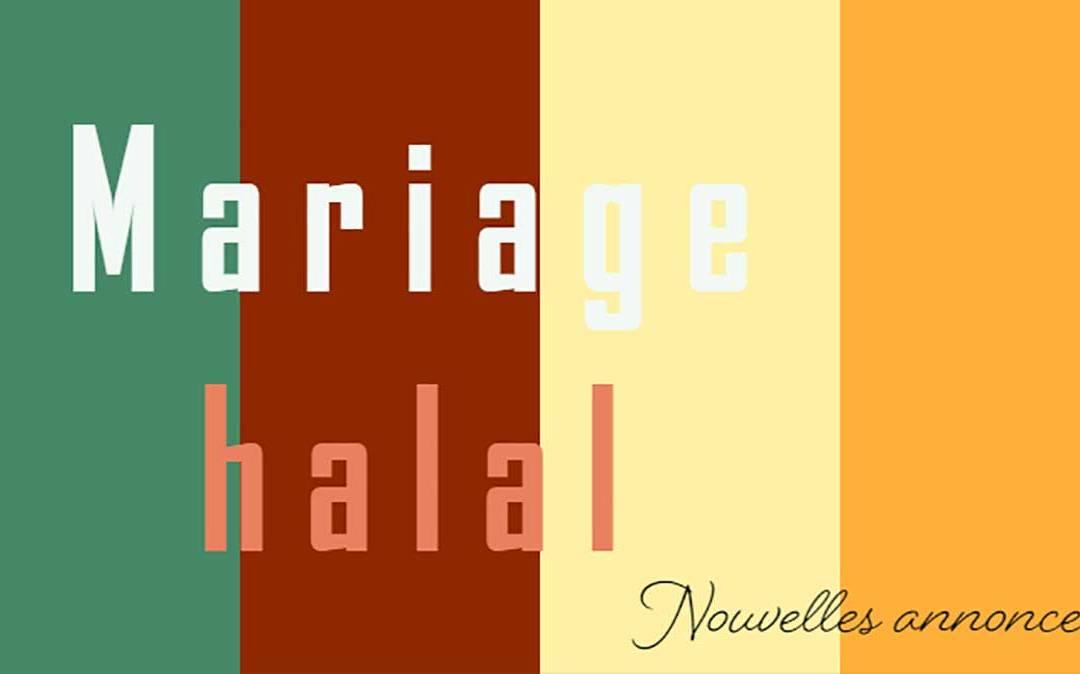 Des annonces de mariage halal a la une