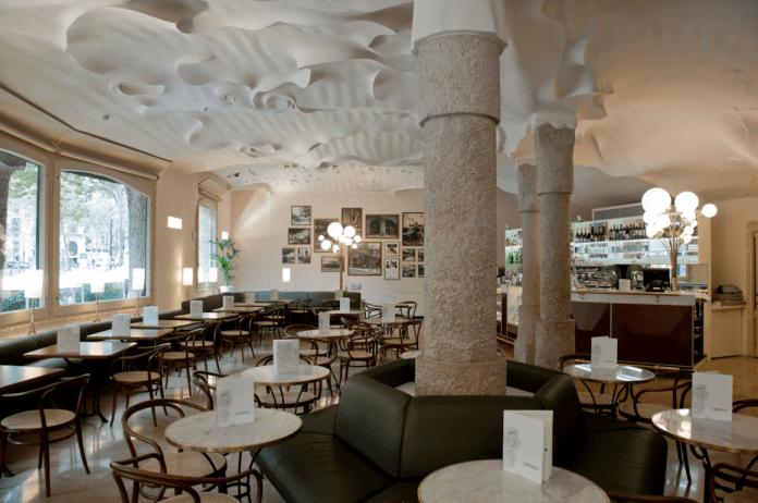Cafè La Pedrera klimatyczne kawiarnie Barcelony