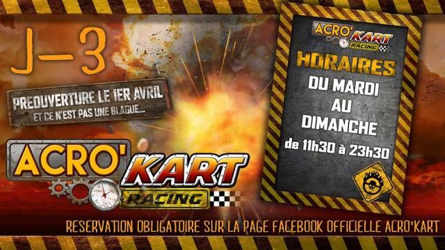 #ZayActu : Préouverture du nouveau Karting en Martinique le 1er Avril 2016   ZayRadio.org