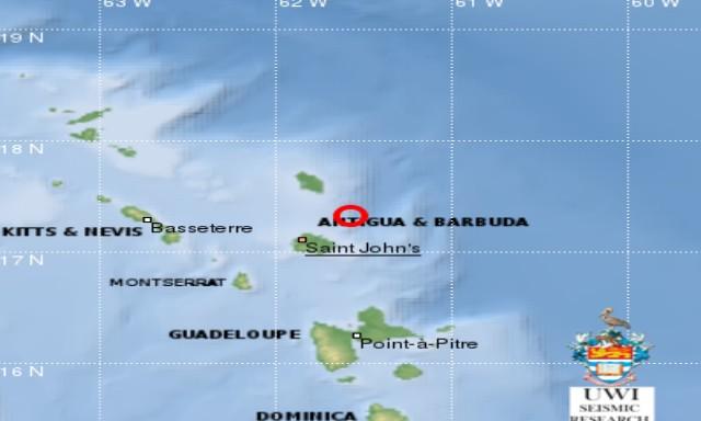 #ZayActu : Nouveau séisme de magnitude 4.6 à Antigua-et-Barbuda | ZayRadio.org