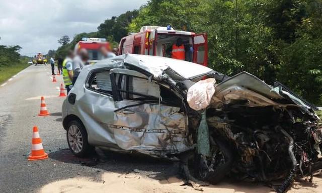 zayactu un terrible accident de la route en guyane fait 6 morts dont 3 enfants. Black Bedroom Furniture Sets. Home Design Ideas