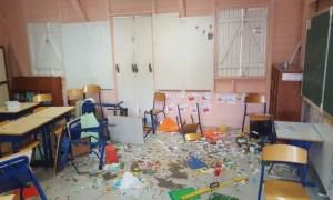 #ZayActu : L'école primaire JB Rouam des Terres-Sainville à Fort-de-France a été vandalisée | ZayRadio.org