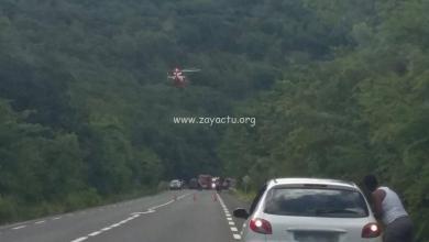 Photo of Un accident de la route fait 4 blessés dont 2 grièvement au Marin