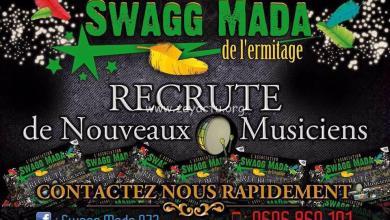 Photo of Le groupe Swagg Mada recrute des musiciens