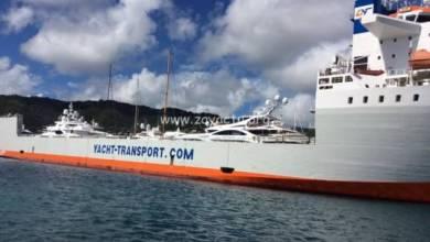 Photo of Arrivage de Yachts et de voiliers en Martinique au Marin