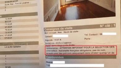 """Photo of """"Pas de noir ni d'étrangers"""" précise une agence pour la sélection des locataires pour une location d'appartement à Levallois-Perret"""