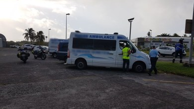 Photo of Plusieurs ambulances et véhicules sanitaires légers contrôlés par les gendarmes