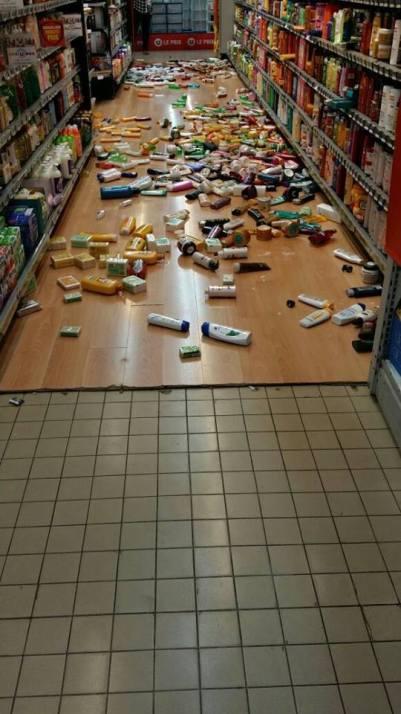 dégâts séisme Martinique 3
