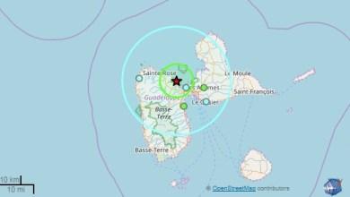 Photo of Un séisme de magnitude 3,4 ressenti en Guadeloupe
