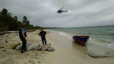 Photo of 230kg d'herbe de cannabis enterrés sur une plage au Cap Macré au Marin saisis